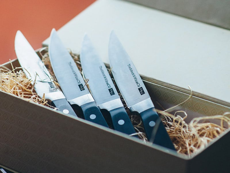 4 Knife Set