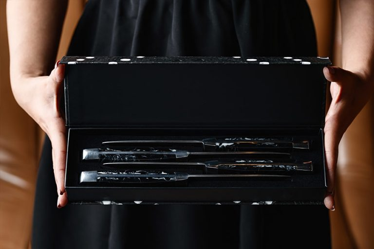 4 Piece Knife Set